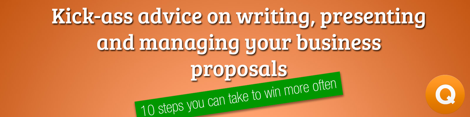Business proposal writing guide