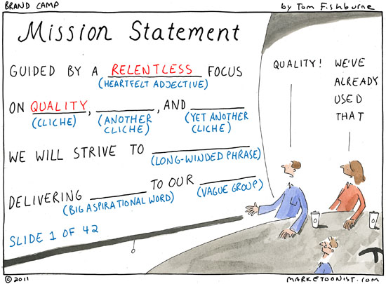 Mission Statement Cartoon