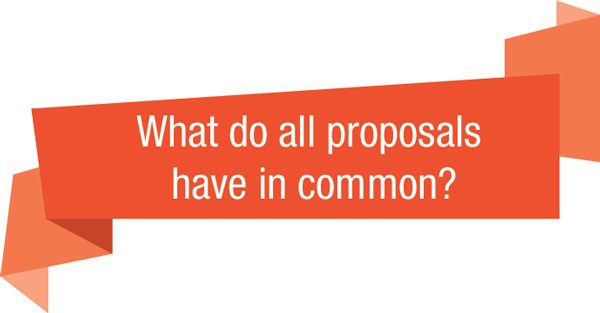 What-do-all-proposals-have-in-common