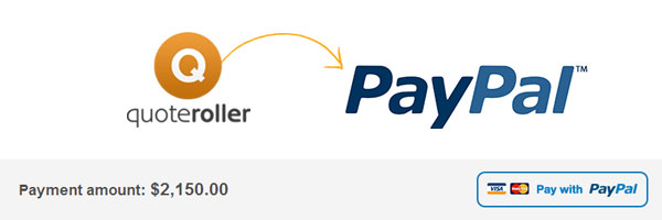 Quote Roller Paypal Integration