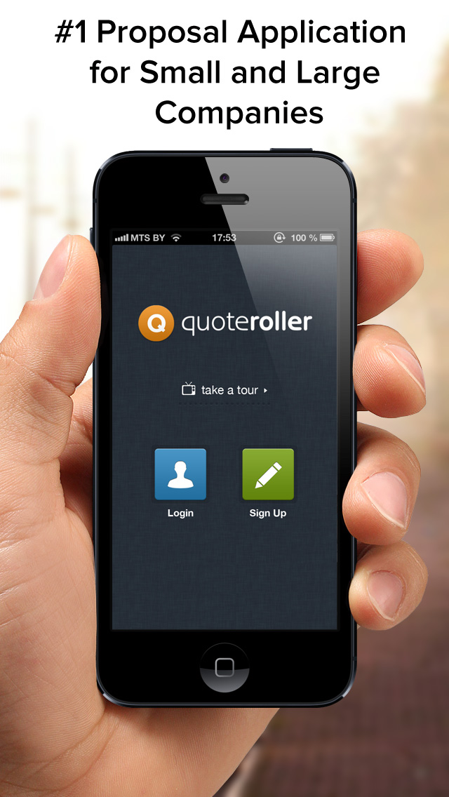 QuoteRoller iPhone app