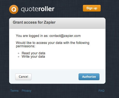 authorize-quoteroller
