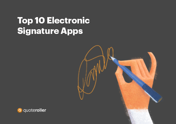DocuSign Сompetitors Electronic Signature Apps